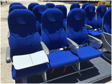 This is a palletized seating solution from Knight Aerospace.