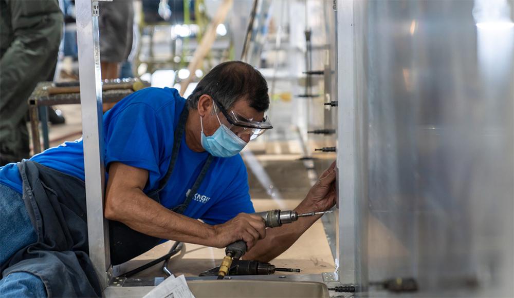 Aeromedical-Bio-Containment-Module Manufacturing
