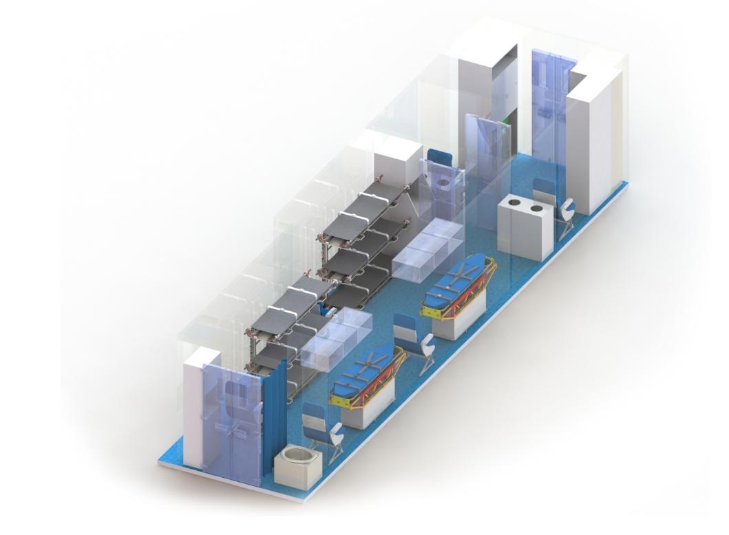 Aeromedical Bio-Containment Module (ABCM)